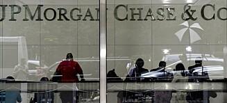 JP Morgan får svi for finanskrisen