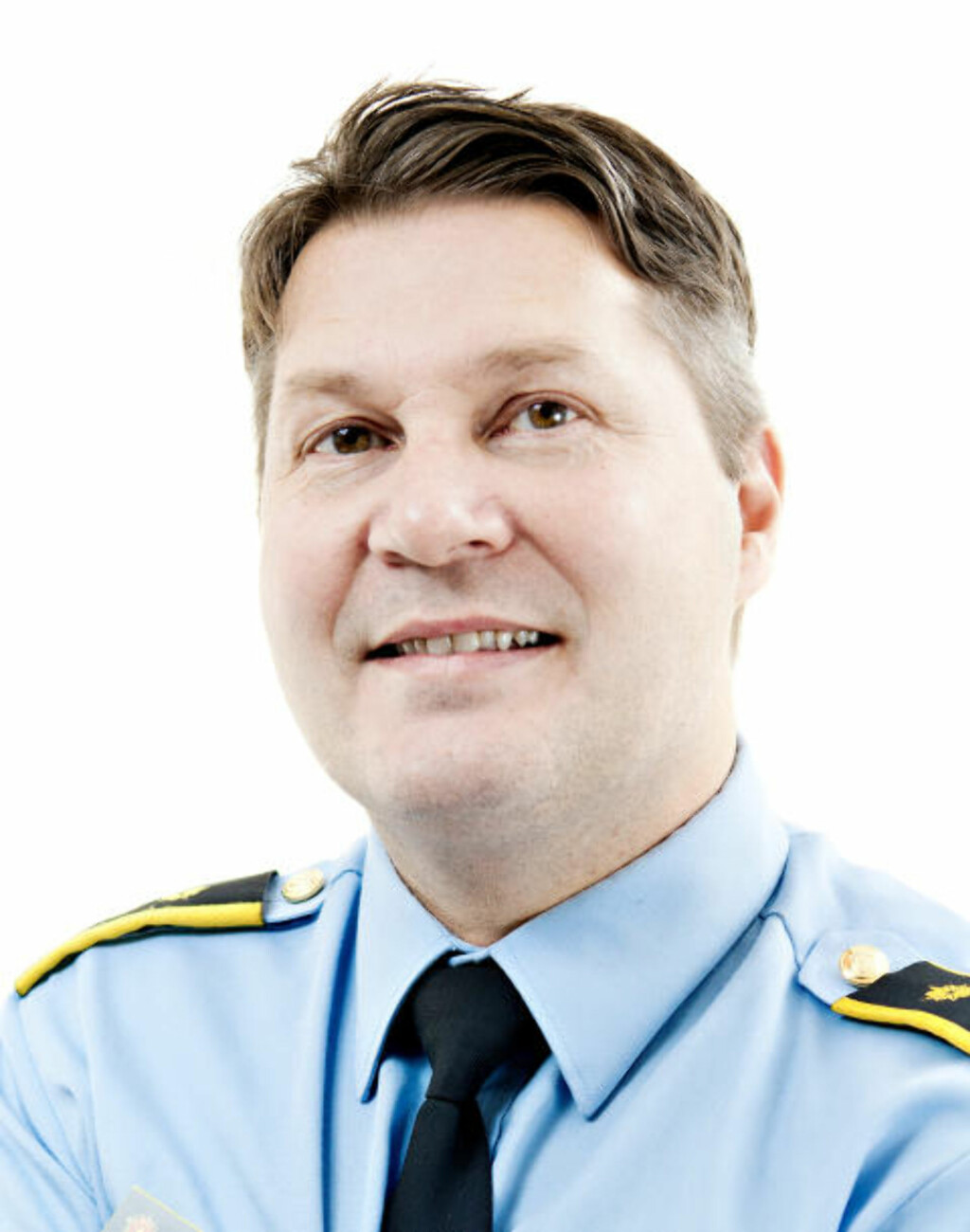 FRUSTRERT: Regionlensmann Tarjei Mathiesen i Vestfinnmark politidistrikt. Foto: Rino Engdal