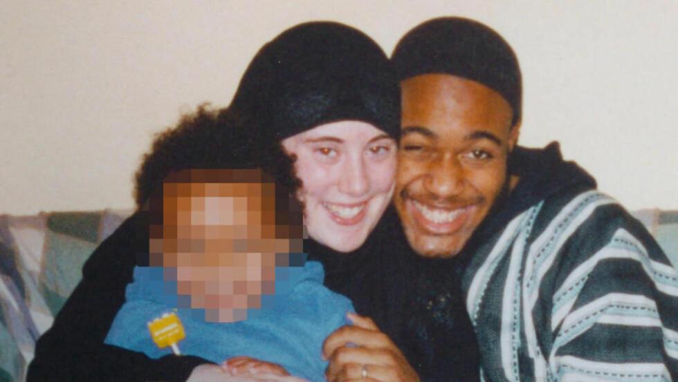 KLAPPJAGET: Terror-enka Samantha Lewthwaite jaktes av politiet. Hun var gift med 7. juli bombemannen Jeramine Lindsay, og var gravid med deres andre barn da han gjennomførte selvmordsaksjonen. Foto: SOLO Syndication/NTB Scanpix