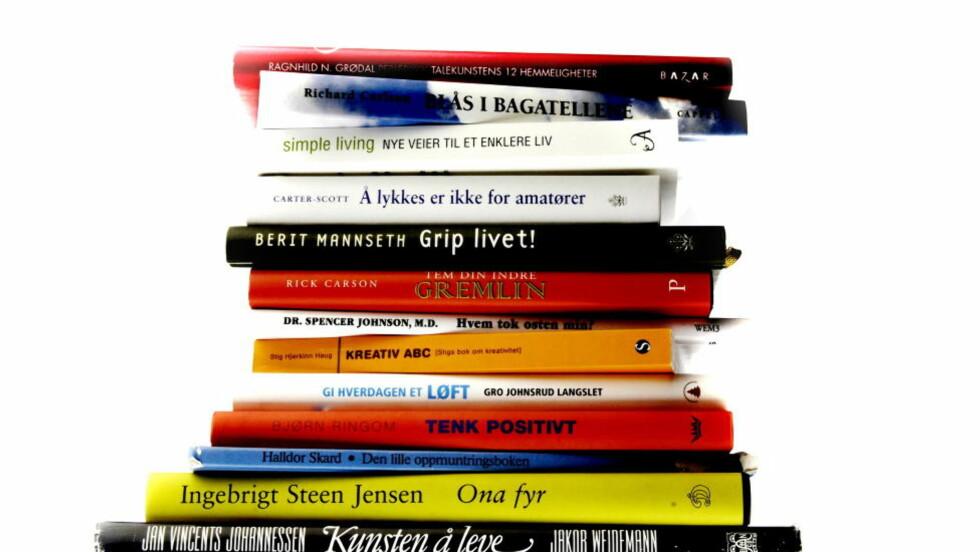 ENKLE GREP: Bokhandlarar må bruke den muglegheitadei har til å tilrå andre bøker enn dei som ligg i stablar ved inngangspartiet, skriv artikkelforfattaren. Illustrasjonsfoto: Agnete Brun