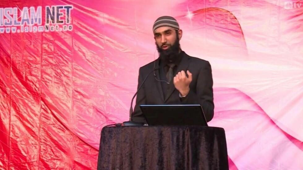 LEDER: En del unge norske muslimer mener salafismen representerer et «autentisk» og «sant» islam - uavhengig av sosial, politisk og historisk kontekst. Uten kildebelegg hevder Qureshi at Islam Nets holdninger er dominerende blant verdens muslimer. Foto: Islam Net
