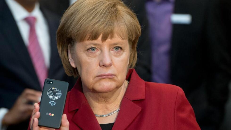 <strong> FORKLARING:</strong> Angela Merkel har nå kalt USAs ambassadør på teppet for å få en forklaring. Foto: AP/NTB Scanpix.