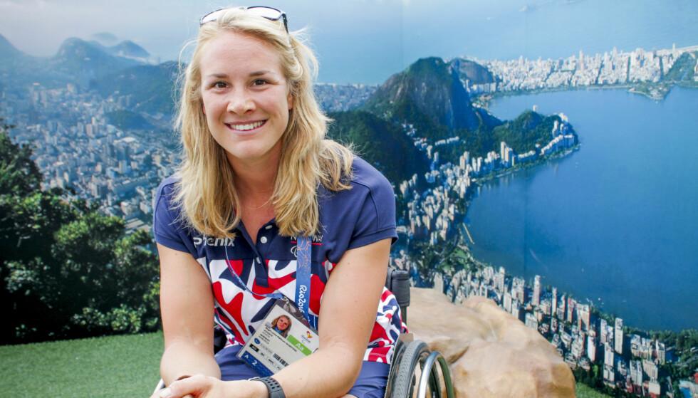 KLAR: Birgit Skarstein på plass i Rio de Janeiro før starten av Paraolympics. Foto: Runa Hestmann / NTB scanpix
