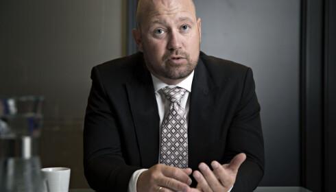 FÅR KRITIKK: Justis- og beredskapsminister Anders Anundsen (Frp) får kritikk fra opposisjonen. FOTO: JAN T. ESPEDAL / NTB Scanpix