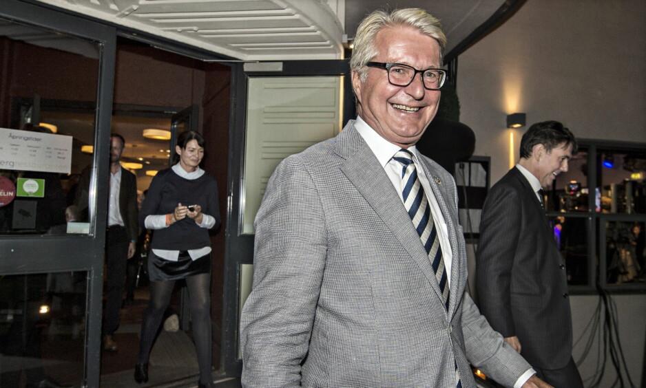 RIKSPOLITIKER: Fabian Stang på Høyre sin valgvake på Ekebergrestauranten i 2015. Foto: Hans Arne Vedlog / Dagbladet