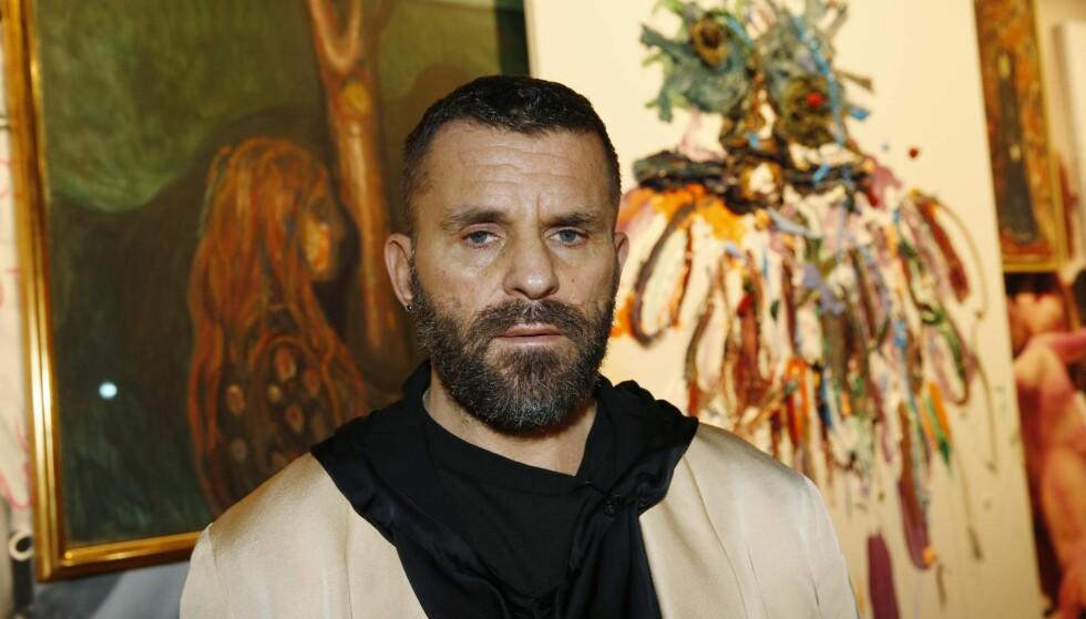MELGAARD FORAN MUNCH: Bjarne Melgaard vil bygge et hus til å dø i der hvor Munchs villa og atelier sto. Området er fredet.