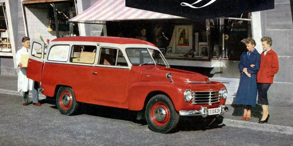 SPREK: Innen bilverdenen er det ikke mange andre 60-åringer som er like sprek som Volvo Duett. FOTO: Volvo
