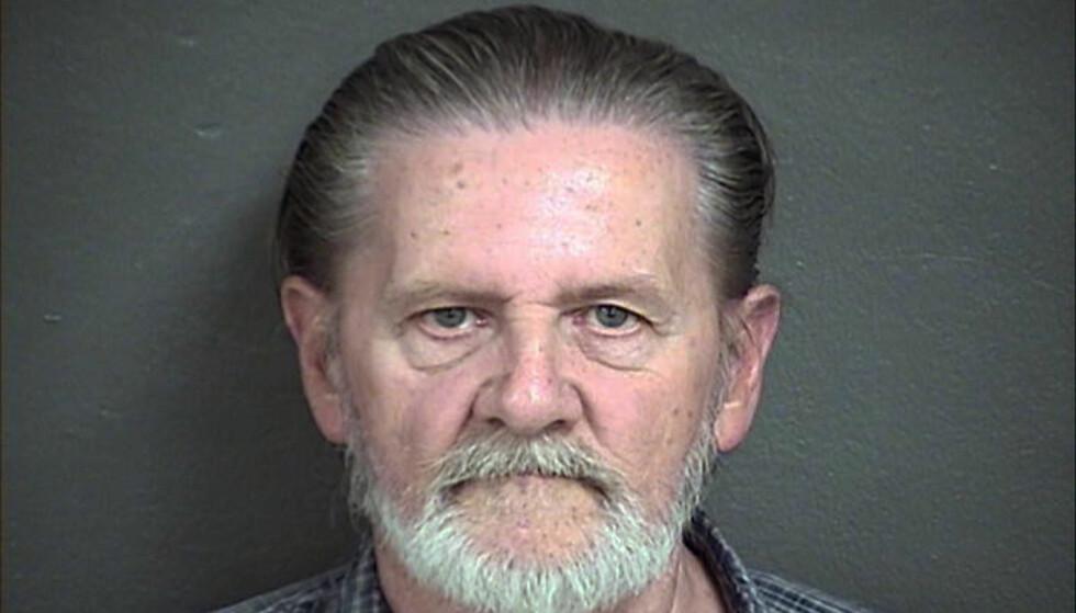 ROBBA BANK: Lawrence Ripple var lei av kona, og kom på løsningen med å robbe en bank. Foto: Wyandotte County Detention Center / AP / NTB Scanpix.