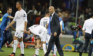 FÅR IKKE HENTE SPILLERE: Real Madrid og Atletico Madrid har fått overgangsnekt. Foto: Henri Szwarc/ABACAPRESS.COM