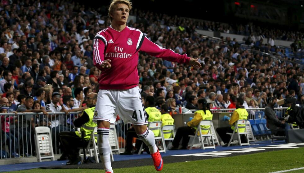 OVERGANGSNEKT: Real Madrid og Atletico Madrids anke ble avvist av FIFA. Det kan påvirke Martin Ødegaards framtid. Foto: REUTER/Juan Medina