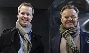 GRÜNDERE: Bård Anders Kasin (t.v) og Jens Petter Høili. Foto: Future Group