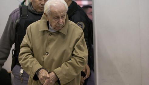 DØMT: Torsdag ble Omar Graffigna dømt til 25 års fengsel for en 38 år gammel bortføringssak. Foto: AP Photo / Natacha Pisarenko / NTB scqanpix