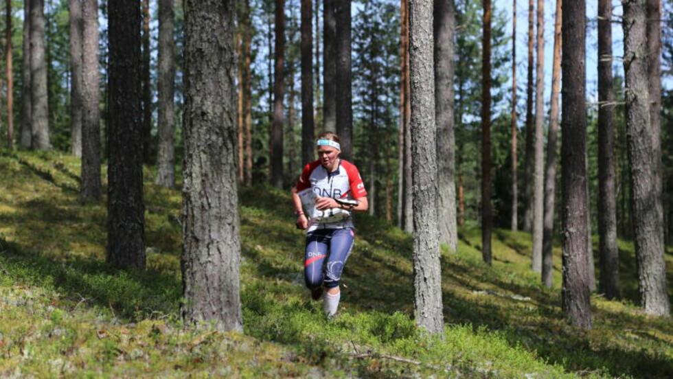 SKUFFET:  Mari Fasting gjorde en god start, men misset mot slutten og falt ut av kampen om medlaje. Foto: Jens O. Kløvrud/Dagbladet.