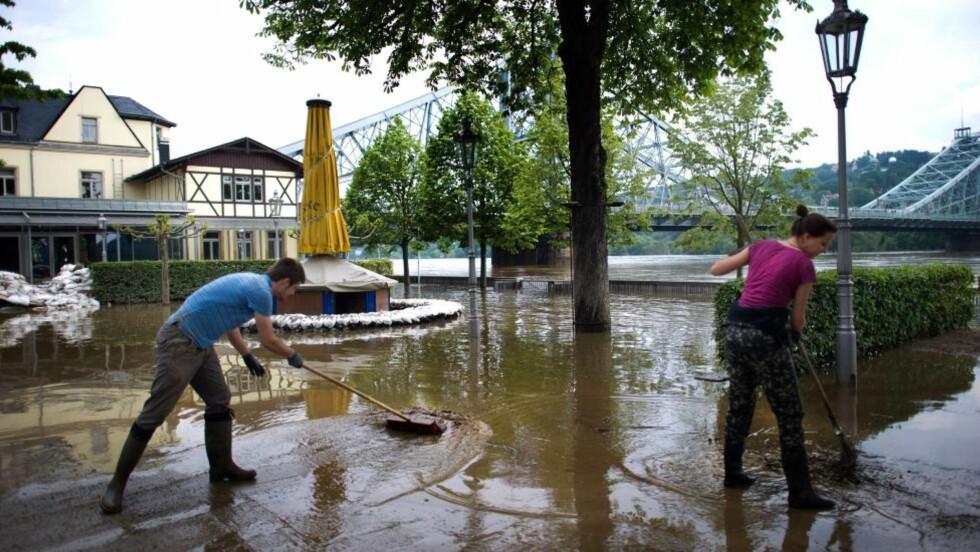 FLOM Dresden, Tyskland, 6. juni Foto: ARNO BURGI / AFP / NTB SCANPIX