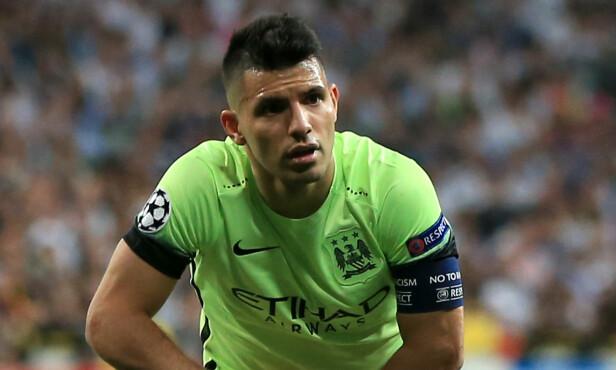 UTESTENGT: Sergio Aguero for Manchester City. Foto: NTB Scanpix
