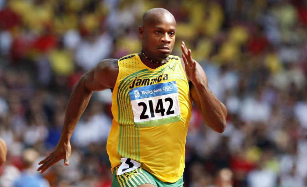 TESTET POSITIVT: Asafa Powell testet positivt på en dopingprøve i juni.  Foto: Arnt E. Folvik / Dagbladet