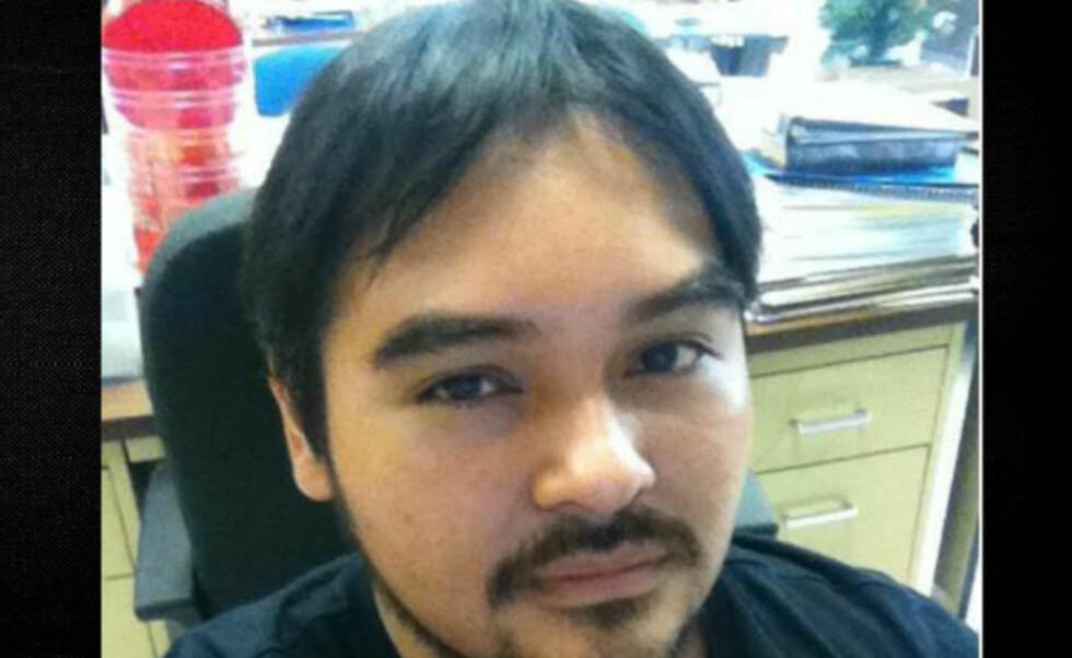 MELDTE SEG: John M. Azabache meldte seg for politiet og ble arrestert for voldtekt på sin egen bryllupsdag.