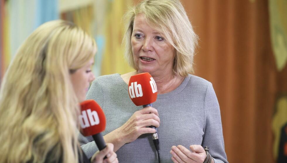 FÅR KRITIKK: Marie Simonsen blir kritisert av justisminister Anders Anundsen. Foto: Thomas Rasmus Skaug / Dagbladet