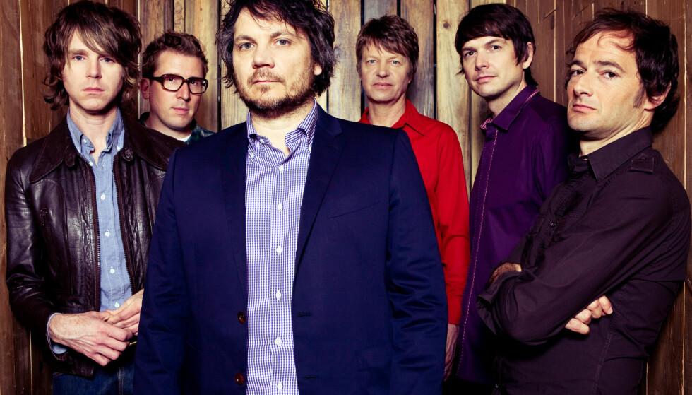NORGESAKTUELLE: Om snaue to måneder gjester briljante Wilco atter hovedstaden. Da med solide «Schmilco» friskt i minnet. Foto: Promo.