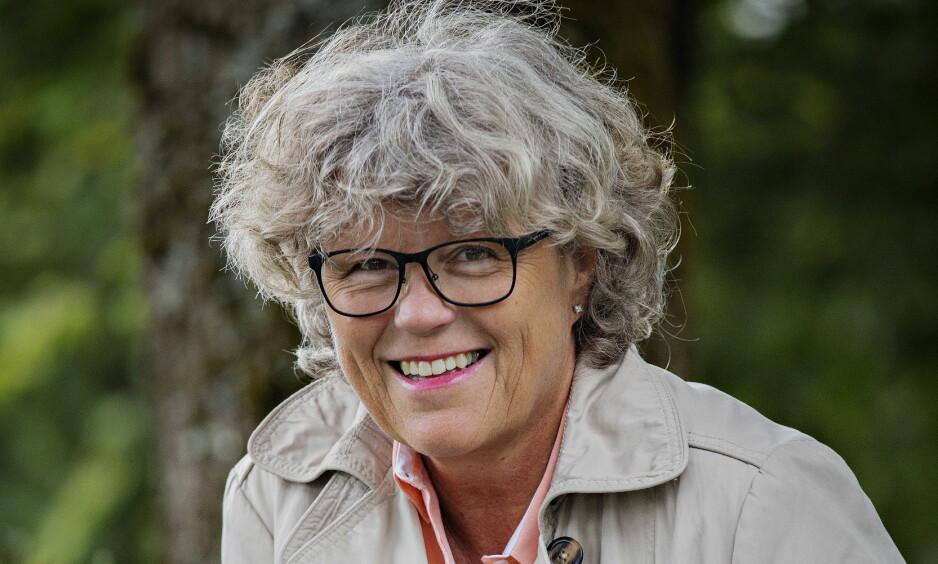 NY KRIM: Anne Holt er ute med sin tredje krim med høyreekstremisme og dermed 22. juli som bakteppe. Foto: JØRN H. MOEN