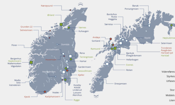 LANGTIDSPLANEN: Slik ser framtidens norske Forsvar ut. Foto: Regjeringen