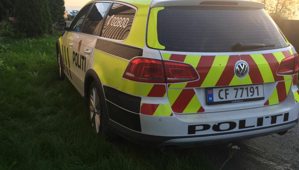 MISTENKELIG DØDSFALL: Politiet har satt igang etterforskning etter at en kvinne ble funnet død i en bolig i Nes på Romerike. Foto: John Terje Pedersen / Dagbladet