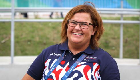 SER POSITIVT PÅ FRAMTIDA: Anne-Cathrine Krüger. Foto: Caroline Dokken Wendelborg/ NIF