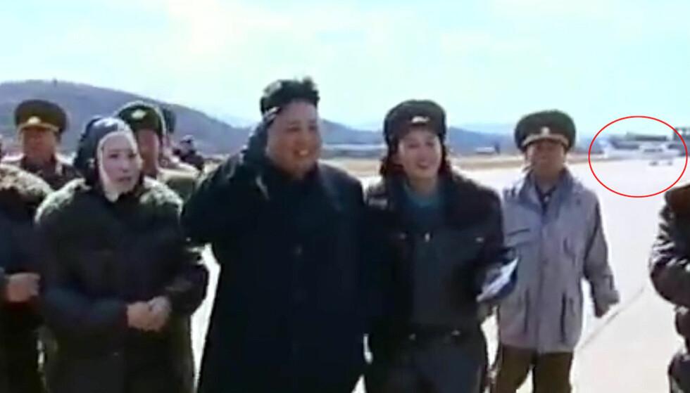 Er dette Kims privatfly?