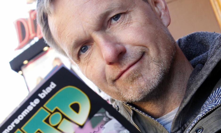 - KOM IGJEN: Frode Øverli, en av Norges beste serietegnere, oppfordrer leserne til å delta i Dagbladets tegneseriekonkurrans. Foto: NTB Scanpix
