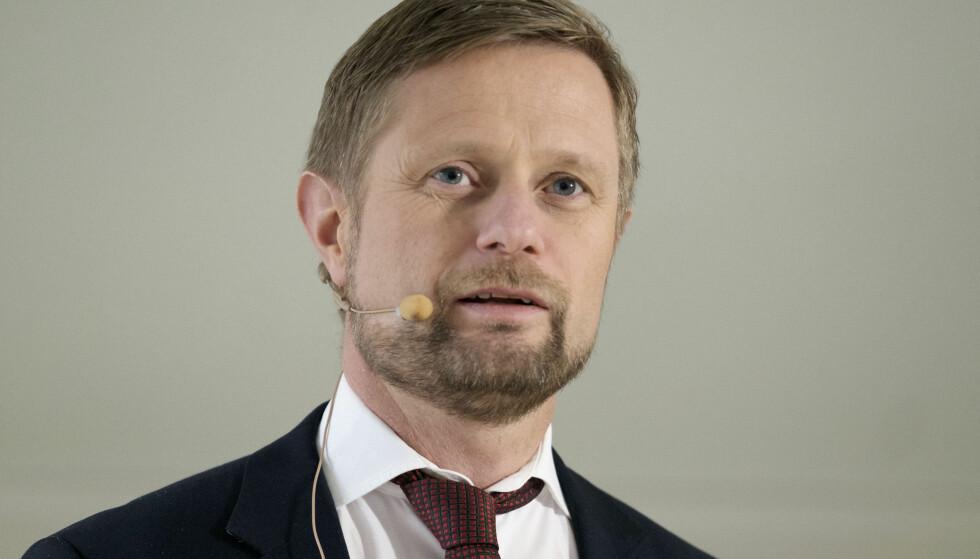 VIL HA OMLEGGING: Bent Høie vil ha en radikal omlegging av narkotikapolitikken. Foto: Ole Gunnar Onsøien / NTB scanpix