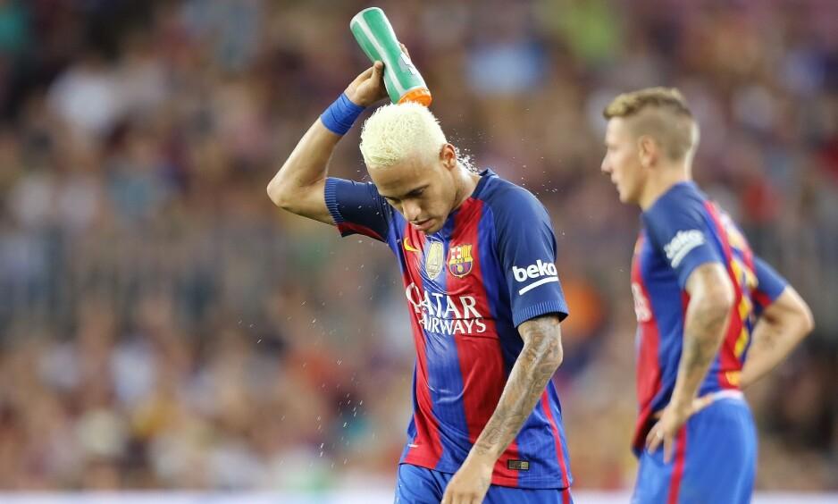 TAPTE: Barcelona og Neymar tapte mot Alaves. Foto: Bagu Blanco/BPI/REX/Shutterstock