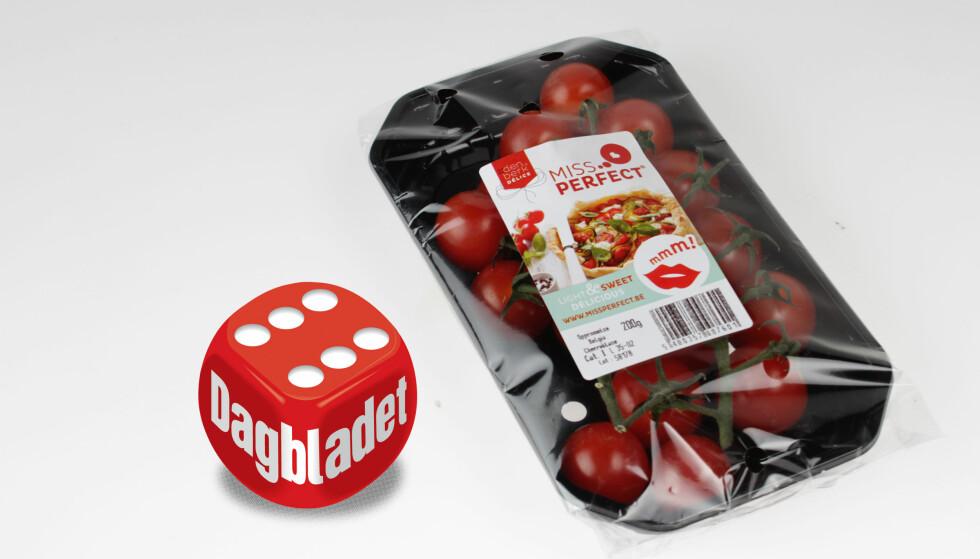 BEST I TEST: Miss Perfect-tomatene var i en klasse for seg. Rett og slett perfekt!
