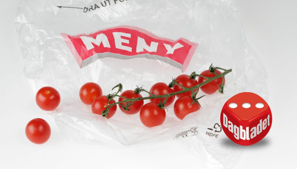 INTETSIGENDE: Tomater i løsvekt fra Meny.