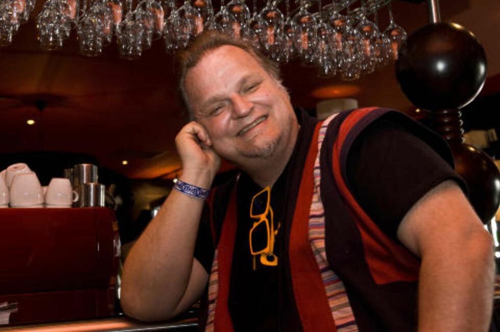 TILBAKEBLIKK: Knut Reiersrud går tilbake til sine tidlige inspirasjonskilder på sitt kommende album. FOTO: TERJE MOSNES