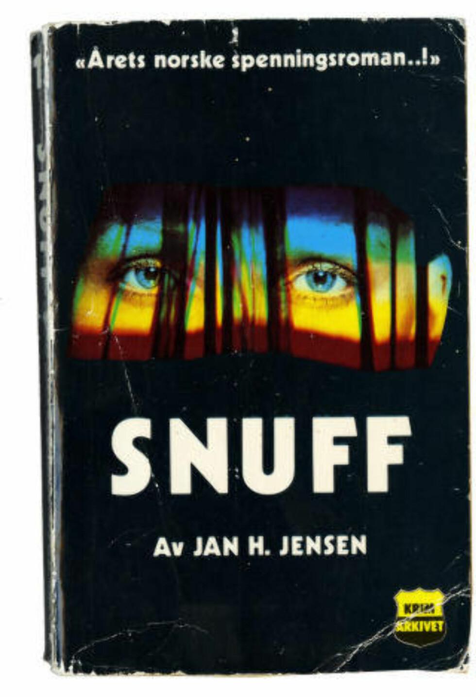 KULTBOK: «Snuff» (1982) ble Jan H. Jensens best kjente roman. Den kom på 23. plass da Dagbladet kåret tidenes norske krimromaner.