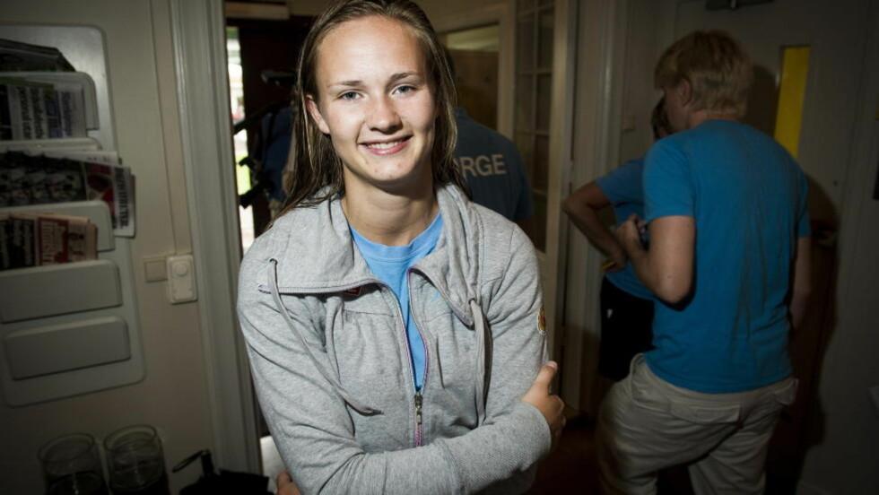 TATT SITT VALG:  Caroline Graham Hansen har signert for den svenske klubben Tyresö.  Foto: John T. Pedersen / Dagbladet