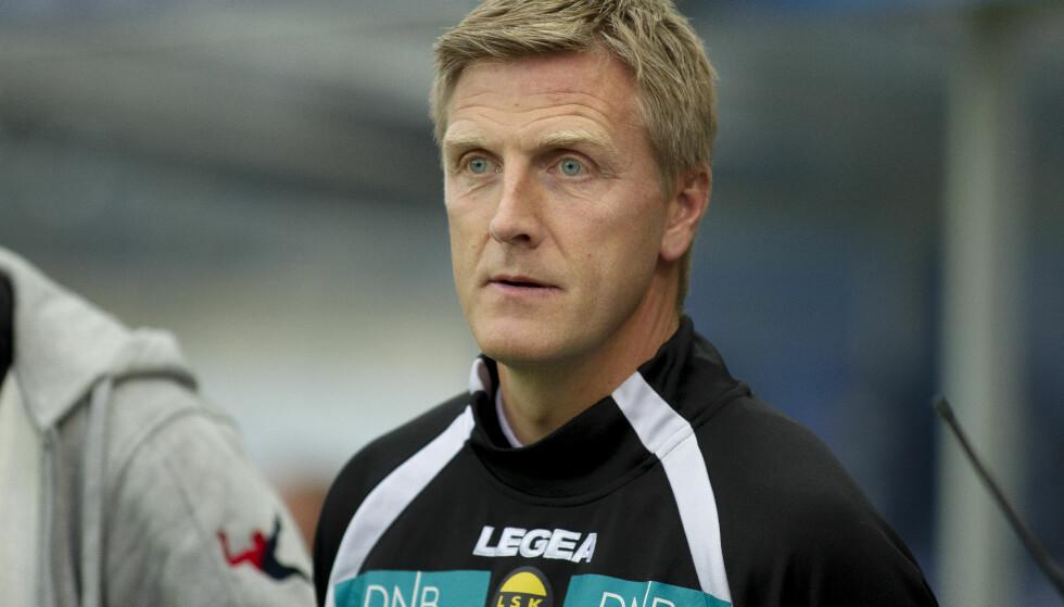FORTSETTER: Lillestrøms trener Runar Kristinsson. Foto: Carina Johansen / NTB Scanpix