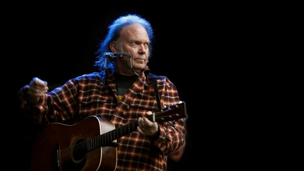 AVLYSER: Neil Youngs kommende konsert i Bergen er avlyst grunnet en ulykke. Foto: Hans A. Vedlog / Dagbladet
