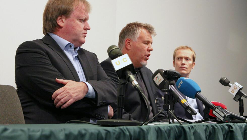GRANSKING: Fotballforbundets påtalenemnd skal se på om Yngve Hallén og Kjetil Siem har brutt NFFs regler.  Foto: Marianne Løvland / NTB scanpix