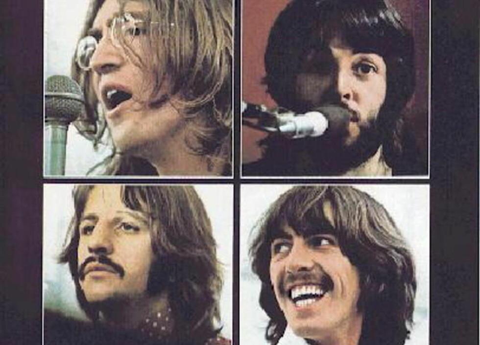 GOD BUTIKK: 43 år etter at The Beatles ble oppløst tjener det enormt mye - her legendene . John Lennon, Paul McCartney, Ringo Starr og George Harrison Beatles. Foto: Fra «Let It Be»-albumet, 1970