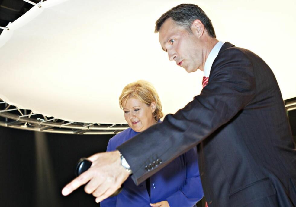TETTER SEG TIL: Det er ikke godt å si hvilket parti i Norge som vil være størst etter valget. Foto: Nina Hansen / Dagbladet