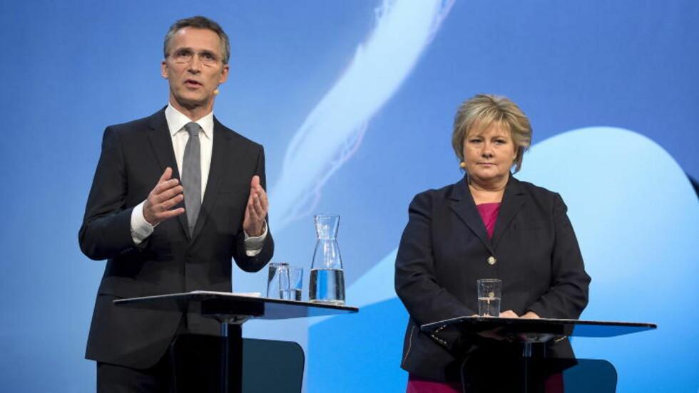 STØRST: Arbeiderpartiet er igjen Norges største parti ifølge en analyse utført av Norsk regnesentral. Foto: Øistein Norum Monsen / DAGBLADET