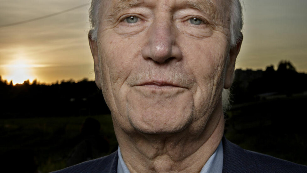 STOLT STOLTENBERG: Thorvald er optimist, og tror at de som sitter på gjerdet kan avgjøre valget. Foto: ANITA ARNTZEN