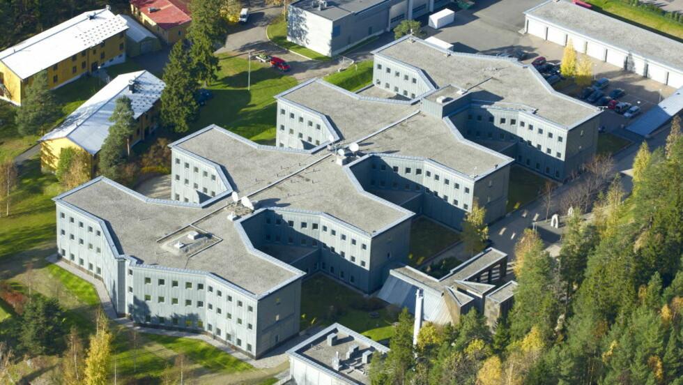 HOVEDKVARTER: Også 12. august gjennomførte EOS-utvalget et uanmeldt tilsyn mot E-tjenesten, i det velkjente hovedkvarteret på Lutvann i Oslo.