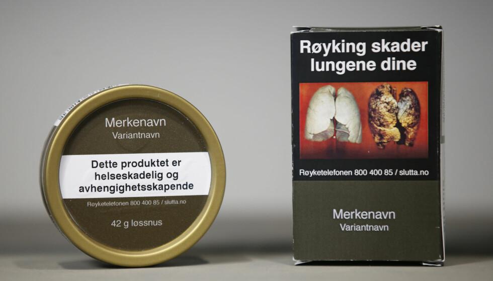 SKADE: Snus er nok skadelig, men langt fra like skadelig som røyk, skriver Anders Skyrud Danielsen. Foto: Lise Åserud / NTB scanpix