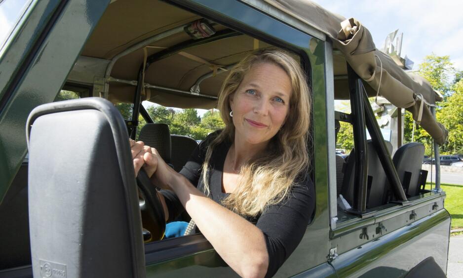GAMLE MINNER: Deziree Safaris kalte Dan Eldon turen til Malawi i 1990. I dag har Marte Ramborg en jeep til minne om den turen. Foto: Arne V. Hoem / Dagbladet