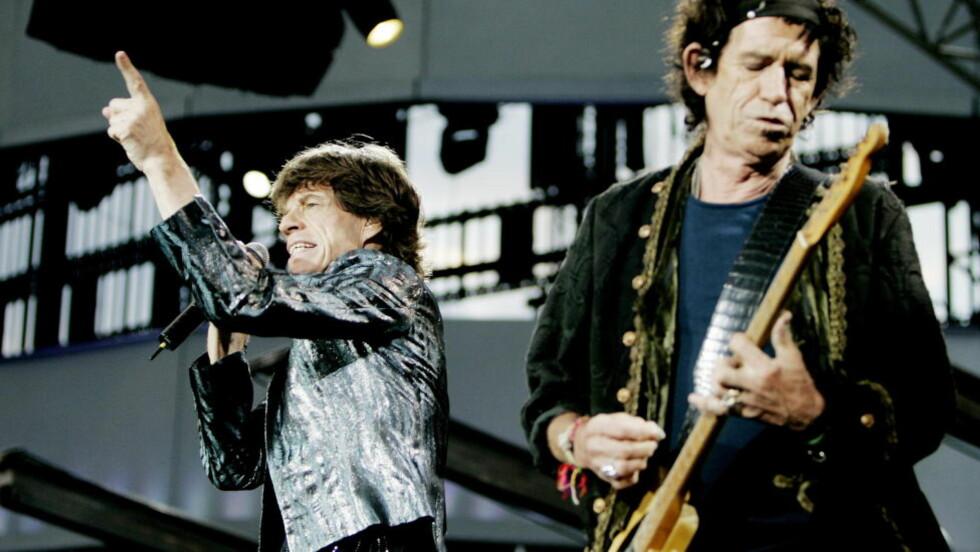 FULLT HUS:  Konsert med de gamle heltene Mick Jagger og Keith Richards i The Rolling Stones på Valle Hovin.  Foto:  Torbjørn Grønning / Dagbladet