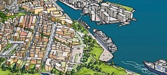 Oslos nye fjordbydel blir vanskelig å få i havn