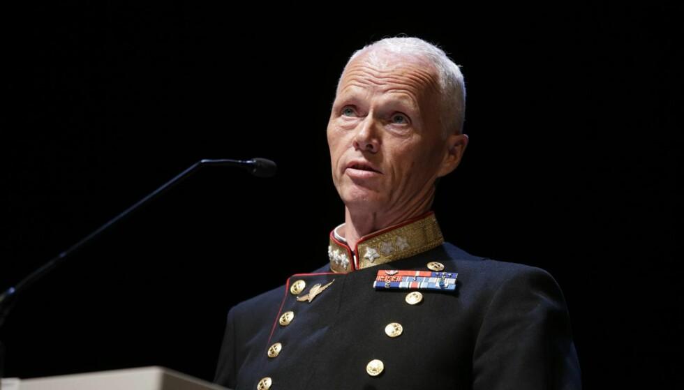KRITIKK: Generalløytnant Robert Mood peker på svakheter i regjeringens langtidsplan for forsvaret.