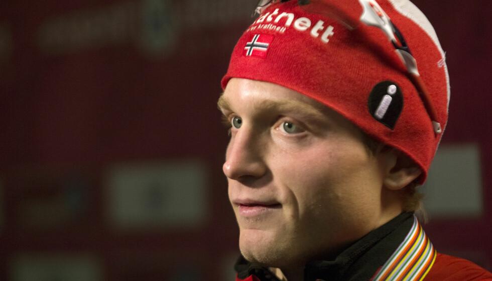 MANGLER MOTIVASJON: Håvard Bøkko har gått lei av skøytesporten og tar en pause. Foto: Terje Bendiksby / NTB scanpix